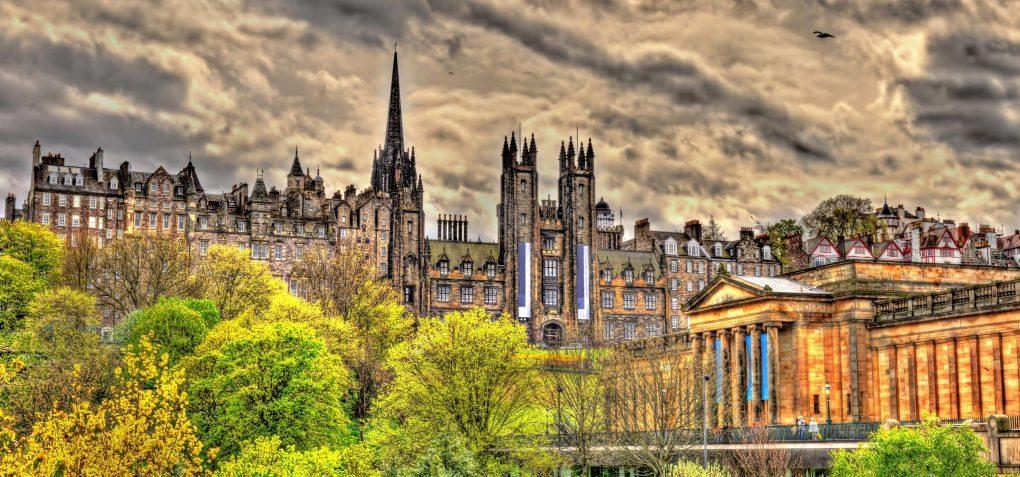 Odkrywanie Edynburga cześć 1