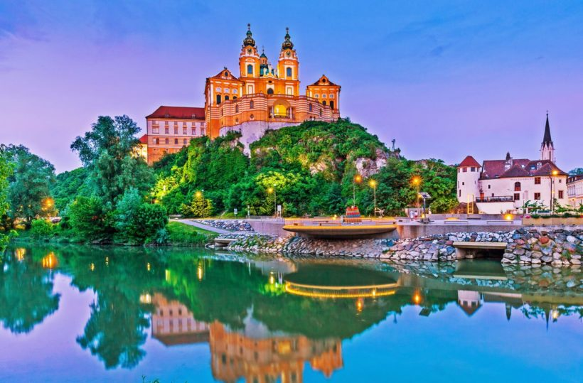 Melk, Austria. Benedictine abbey.