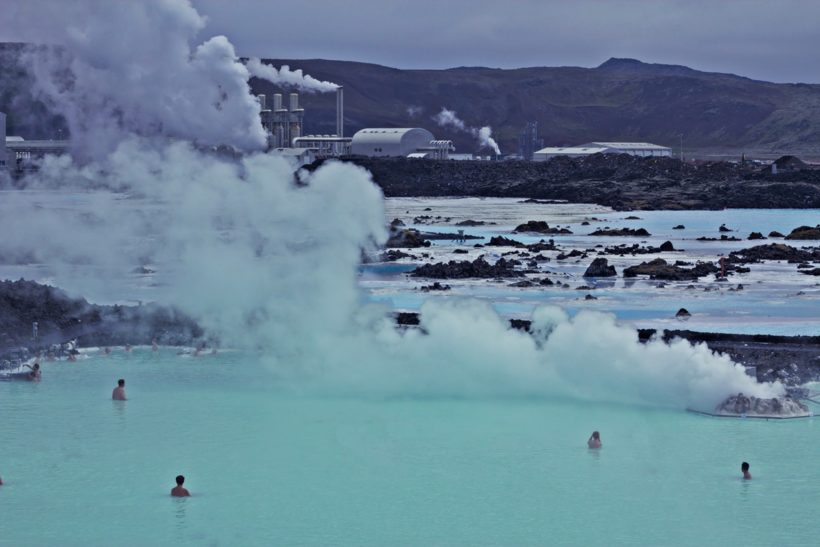 blue lagoon Spa at iceland