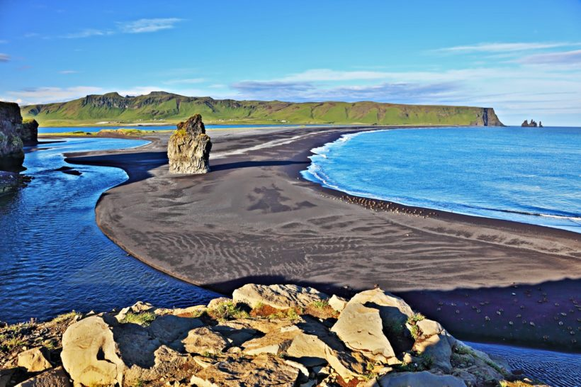 Cape in southern Iceland